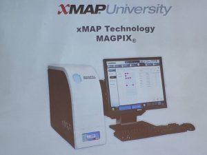 Унікальний сучасний прилад виробництва США «MAGPIX», якій дозволяє дослідити одночасно 50 різних збудників інфекцій.
