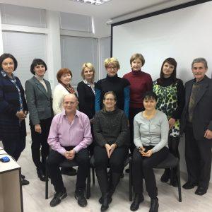 Учасники тренінгу «Молекулярна вірусологія та діагностика вірусів з негативно полярною одноланцюговою РНК»