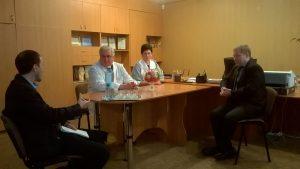 Під час візиту до КЗ «Кам'янська міська лікарня №7» ДОР»