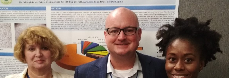 Gavin Braunstein - Science Manager at DTRA Керівник з наукової роботи DTRA Гевін Браунштейн